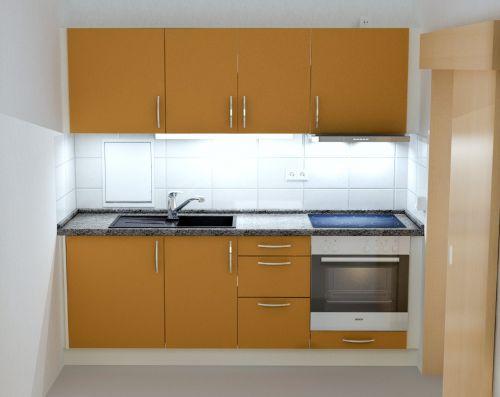 Küchen mit einbaugeräten für wohnungen in leipzig