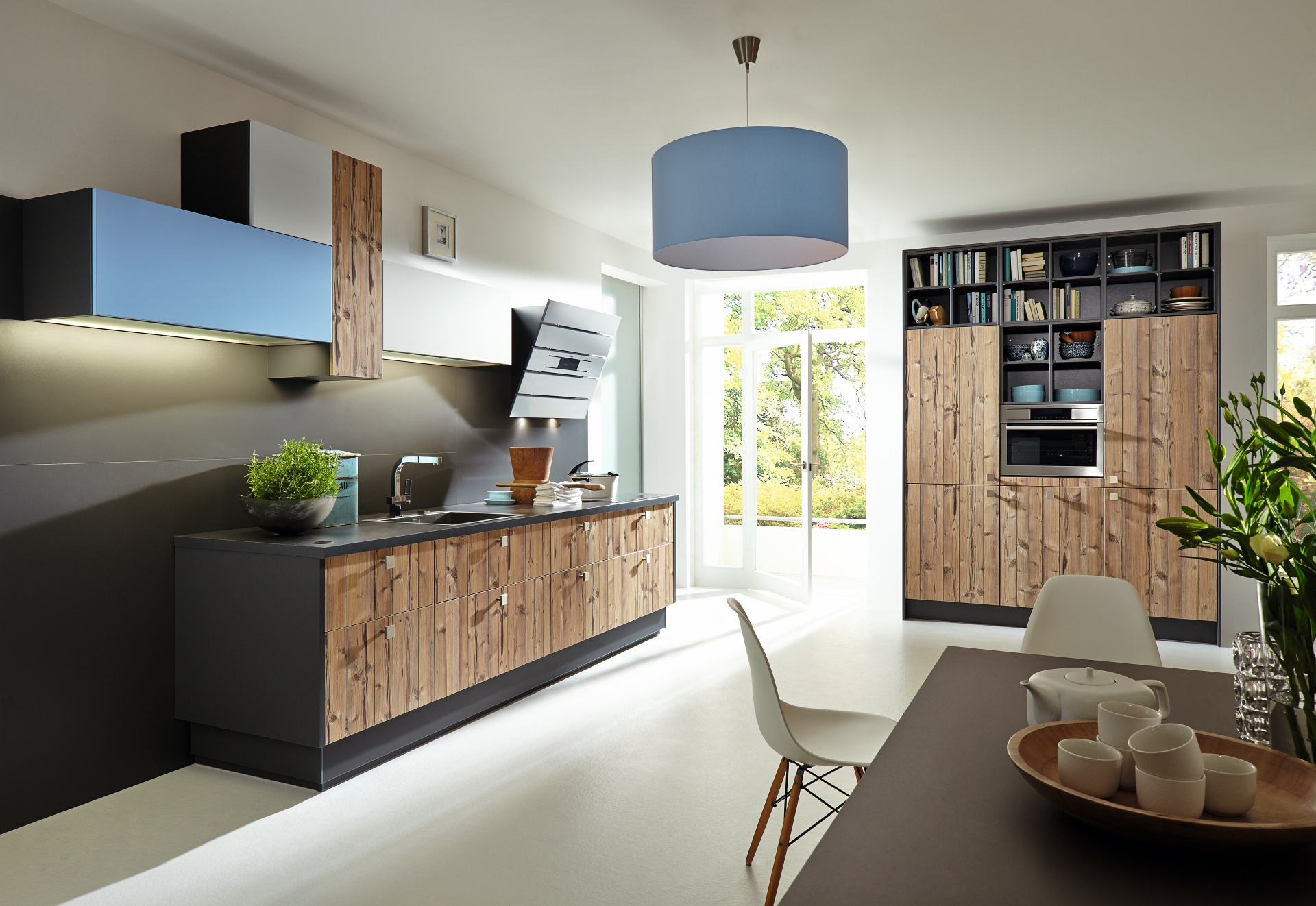 sachsenk chen m llers k che. Black Bedroom Furniture Sets. Home Design Ideas